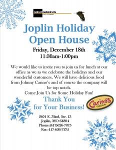 joplin open house